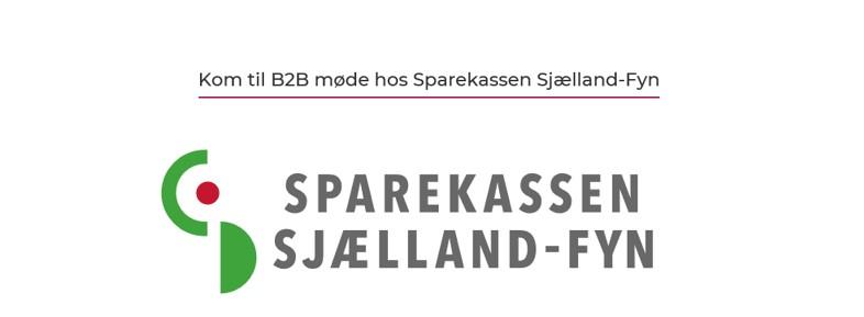 B2B møde hos Sparekassen Sjælland-Fyn i Odsherred Erhvervsforum regi