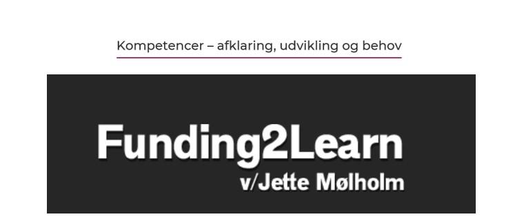 Odsherred Erhvervsforum inviterer til arrangement om Kompetencer med Jette Mølholm