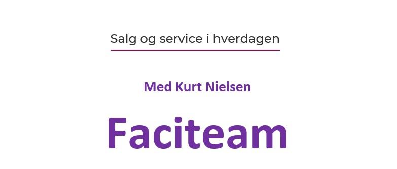 Odsherred Erhvervsforum afholder arrangement med Faciteam om Salg og Service i hverdagen.