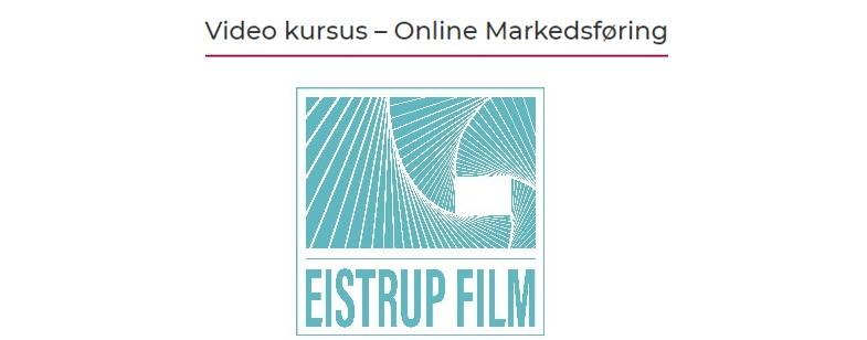 Video kursus i Odsherred Erhvervsforum, underviser er Jacob Eistrup fra Eistrup Film