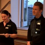 Line og Lucas til Odsherred Lærling 2019