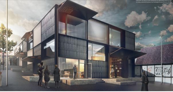 Odsherred Teater lægger lokaler til Erhvervscafé arrangeret af Odsherred Erhvervsforum